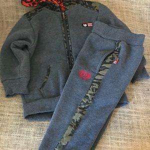 Phat Farm Boys Sweatsuit Hoodie & pants 3T
